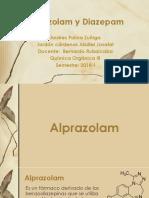 Diazepam y alprazolam