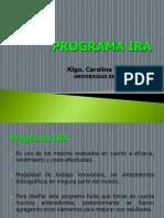 Programa Ira 2017