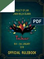 Rulebook Jamia Fest