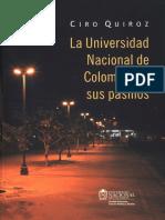 La Universidad Nacional de Colombia en sus Pasillos