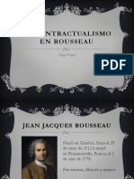 El Contractualismo en Rousseau