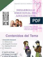 Desarrollo Emocional en El Adolescente