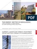 The Energy Sector in Bangladesh