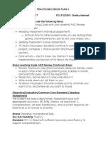 practicum lesson plan 2