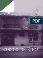 Codigo de Etica Del Colegio de Enfermeras de Chile 2008