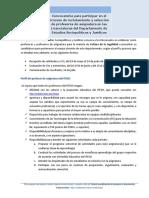 Convocatoria Reclutamiento y Selección Profesores de Asignatura Cultura de La Legalidad (Mayo 2017)