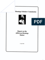the scholars commission report - executive summary