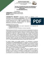 Informe de Avances Planmeamabassipro