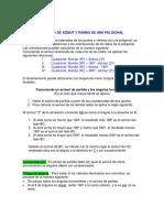 1.10 Cálculo de Azimuts y Rumbos de Una Poligonal