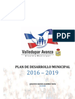 Pdm Valledupar Avanza Version Definitiva Acuerdo 001 de 2016