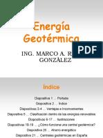 312346673 Energia GEOTERMICA Diapositivas