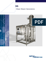 Spirax Sarco - PSG and CSG - Pure Steam and Clean Steam Generators