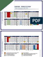 Kalendek Akademik 2014-2015