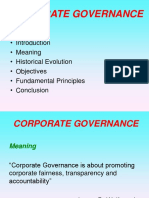 Corporate Governance- New