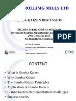 Gemba Kaizen Presentation to Icpak