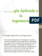 Geologia Aplicada en La Ingenieria