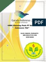 Tugas HRM Planning Maikel Rudianto(Exe XIIB)