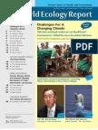 World Ecology Report 2010 Summer Fall Vol XXII No 2 3