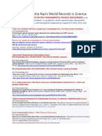 SIX LANDMARK PAPERS ON TEN FUNDAMENTAL PHYSICS DISCOVERIES IN SIX SUBJECTS OF PHYSICS.docx