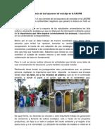 Fomentar El Uso Correcto de Los Basureros de Reciclaje en La UAGRM