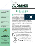 December 2006 Signal Smoke Newsletter Travis Audubon Society