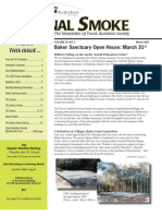 March 2007 Signal Smoke Newsletter Travis Audubon Society