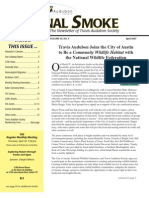 April 2007 Signal Smoke Newsletter Travis Audubon Society