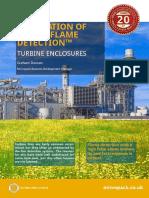 Visual Flame Detection Turbine Enclosures