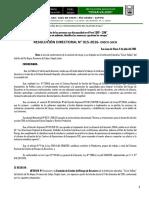Resolucion Directoral de Comisionde Riesgo 2016 Julio