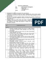 3. Analisis Kompetensi