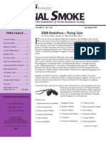 July-Aug. 2008 Signal Smoke Newsletter Travis Audubon Society