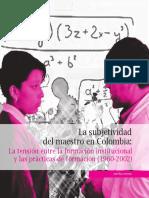 4. La Subjetividad Del Maestro en Colombia