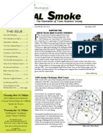 March-April 2009 Signal Smoke Newsletter Travis Audubon Society