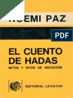 Paz Noemi - El Cuento De Hadas - Mitos Y Ritos De Iniciacion.pdf