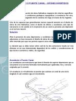 Sifones y Acueductos Presentación
