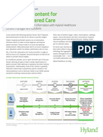 Hyland Healthcare Solution Overview Connecting Content