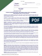P.D. No 1606 - Sandiganbayan Law