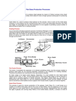 Flat Glass Production Processes