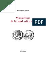 Massinissa Le Grand Africin