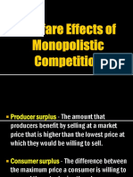 Welfare Effects of Monopolistic Competition