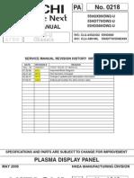 hitachi p50h401 service manual pdf printed circuit board soldering rh es scribd com Hitachi Excavator Weights Hitachi Excavators Service Manual