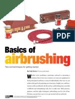 Basics of Airbrushing