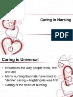 Caring in Nursing