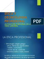 Ética y deontologia Profesional
