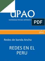 Redes en El Peru