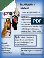 Sonoviso-educacion Sujetos y Subjetividad