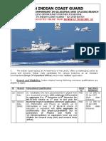 Indian Coast Guard Recruitment - Assistant Commandant2017