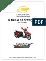 Manual Servico DAFRA SMART 125