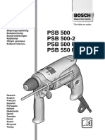 Bosch Psb500