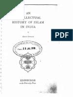 [Aziz Ahmad] Intellectual History of Islam in India